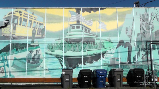 west seattle murals, travel, photography, ailsa prideaux-mooney,