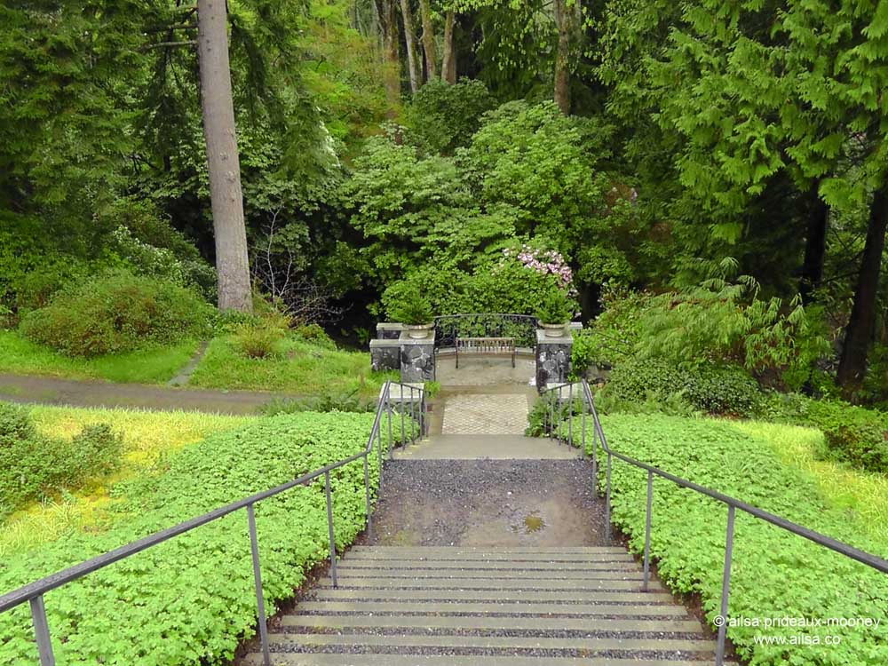 Bloedel Reserve, Seattle, Bainbridge Island, Garden, Gardens, Rain, Travel,