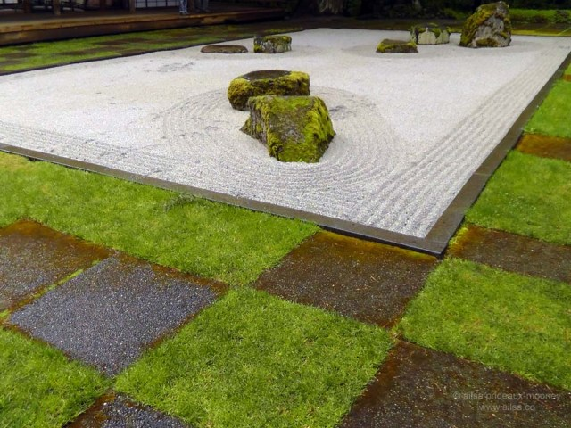 bloedel reserve, seattle, bainbridge island, garden, gardens, rain, travel, travelogue, ailsa prideaux-mooney, zen garden