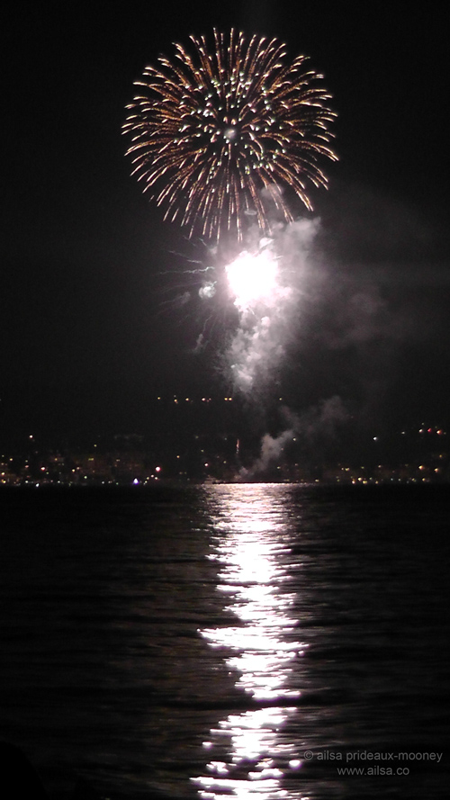 seattle, independence day, 4th of july, fireworks, ailsa prideaux-mooney, travel, travelogue