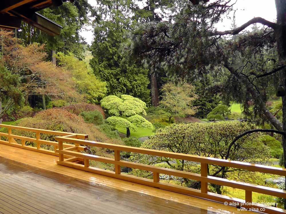Bloedel Reserve, Seattle, Bainbridge Island, Garden, Gardens, Rain, Travel,