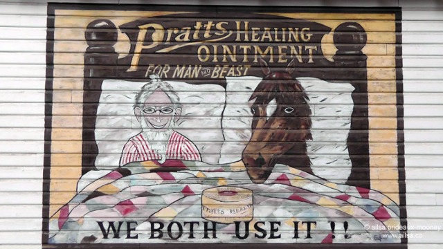 pratts healing ointment ad, winthrop, washington, travel, photography, travelogue, ailsa prideaux-mooney