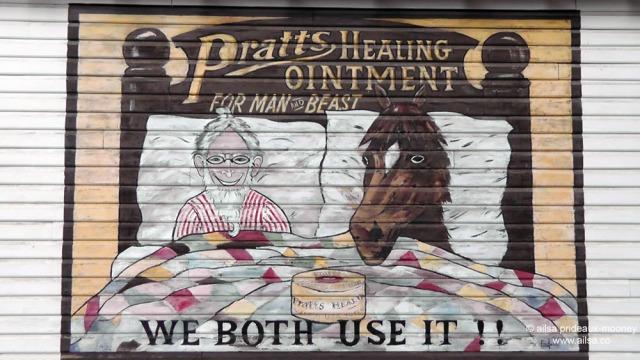 pratts healing ointment ad, winthrop, washington, travel, photography, travelogue, ailsa prideaux-mooney