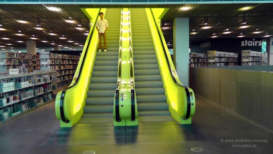 seattle public library, architecture, travel, photography, ailsa prideaux-mooney. Rem Koolhaas