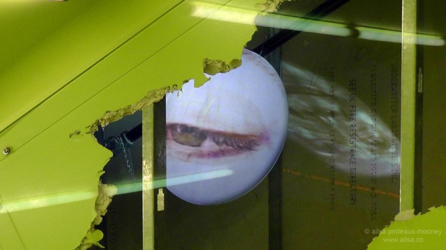 seattle public library, architecture, travel, photography, ailsa prideaux-mooney. Rem Koolhaas, Tony Oursler, video installation, art