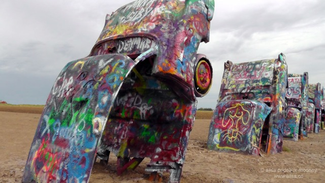 cadillac ranch, texas, usa, america, road trip, travel, travelogue, photography, ailsa prideaux-mooney