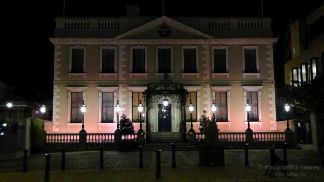 hallowe'en, dublin, ireland, mansion house, travel, travelogue, ailsa prideaux-mooney, photography