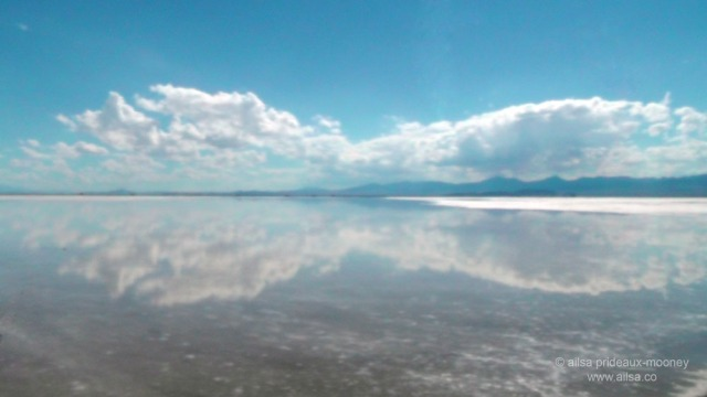 bonneville salt flats, utah, flood, photography, travel, travelogue, ailsa prideaux-mooney