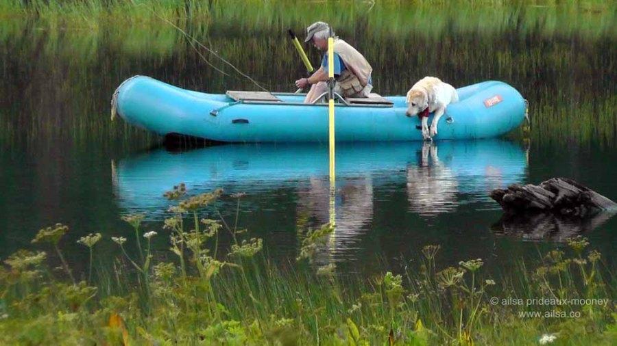 boating, man's best friend, washington, salmon le sac, travel, travelogue, photography, ailsa prideaux-mooney