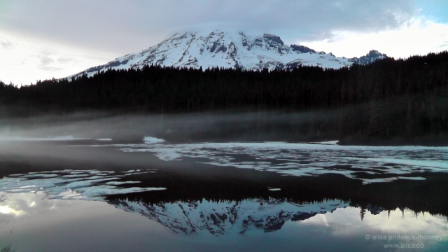 mount rainier, washington, volcano, north cascades, travel, travelogue, travel photography, ailsa prideaux-mooney, reflection lakes