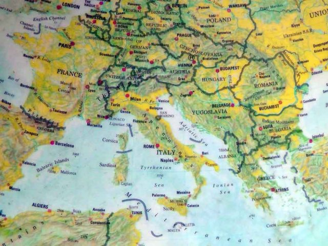 map of europe, european map, map, europe, ailsa prideaux-mooney, travel, travelogue