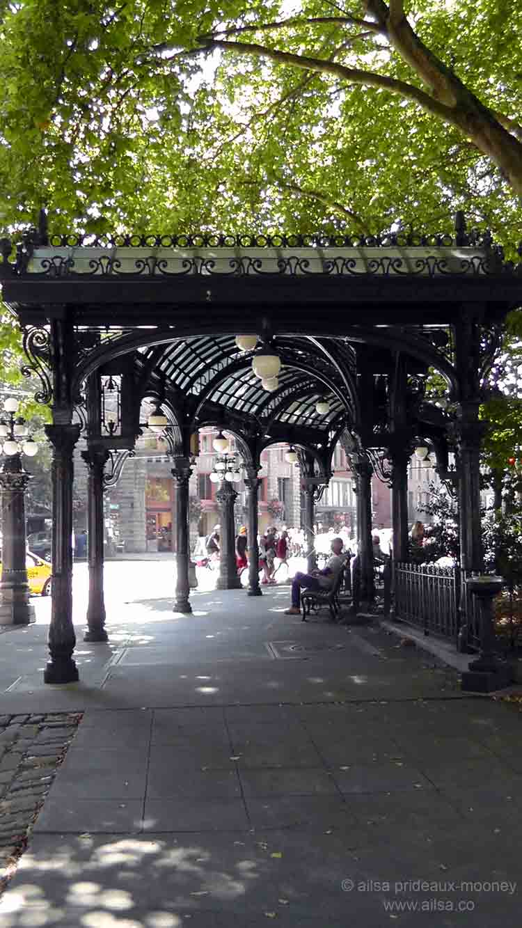 The Endangered Pergola Of Pioneer Square Where S My