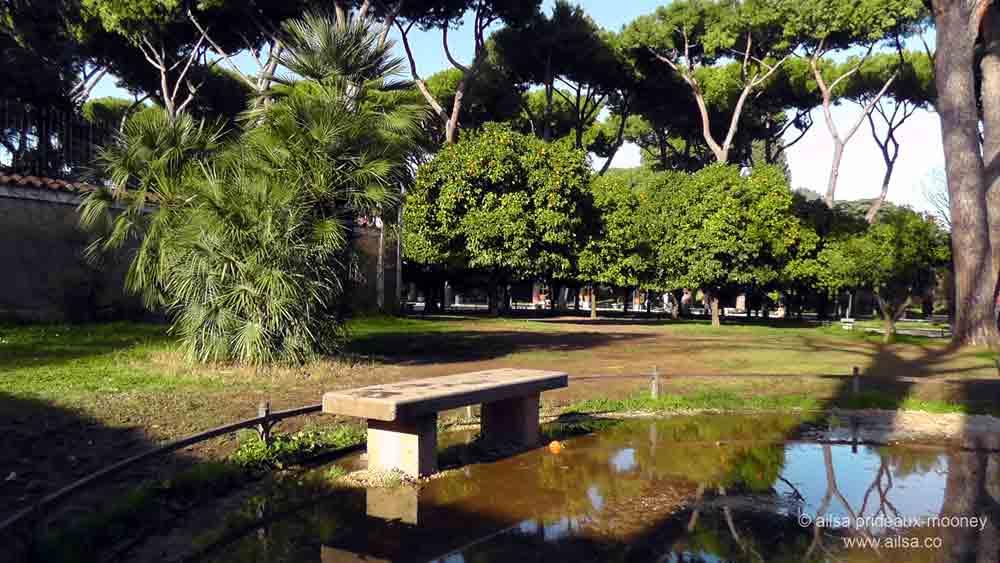 View from the orange grove where 39 s my backpack - Giardino degli aranci frattamaggiore ...