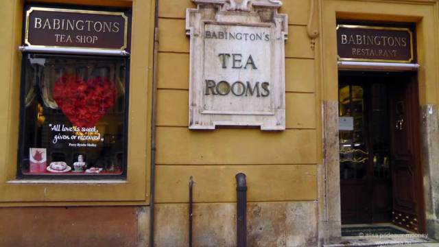 rome, italy, travel, literati, grand tour, photography, travelogue, travel, ailsa prideaux-mooney, babingtons tea house, babington's