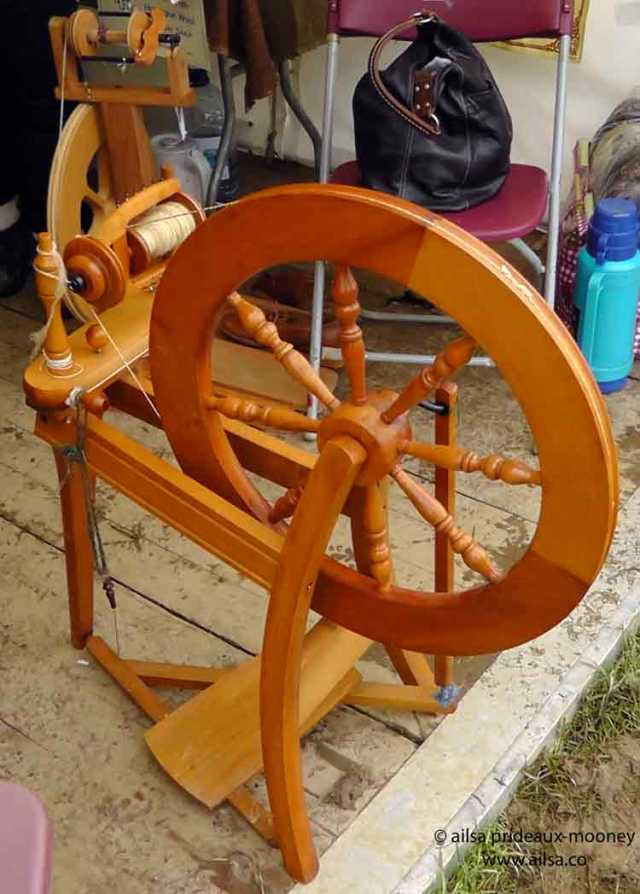 sheep olympics, golden shears, gorey, wexford, ireland, travel, travelogue, ailsa prideaux-mooney, spinning wheel
