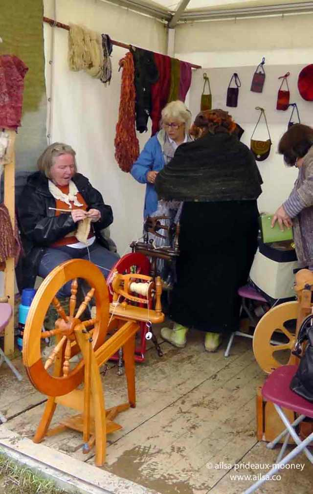sheep olympics, golden shears, gorey, wexford, ireland, travel, travelogue, ailsa prideaux-mooney, spinning wool