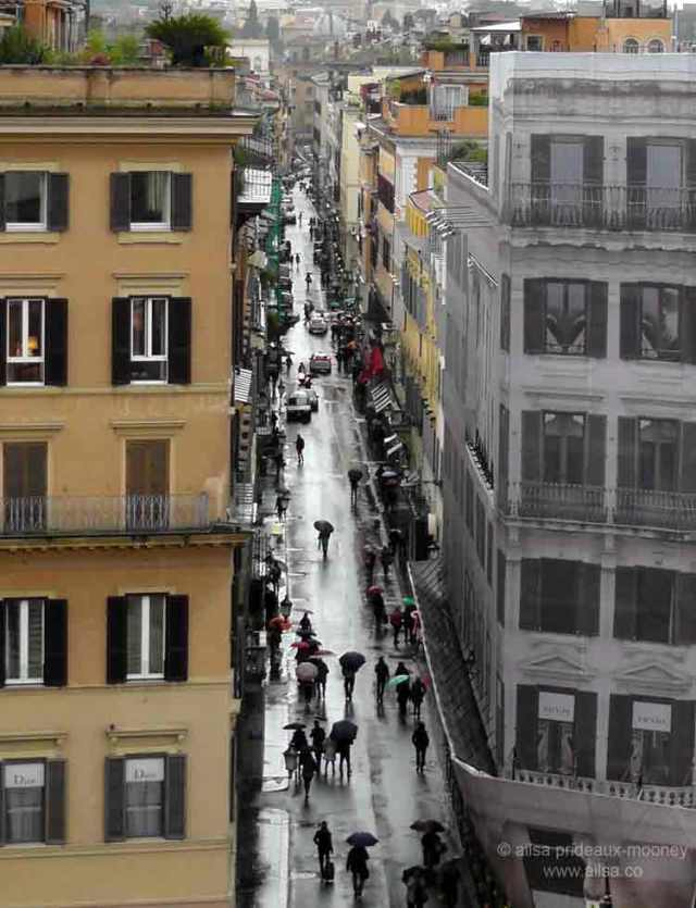 via condotti, rome, travel, travelogue, ailsa prideaux-mooney