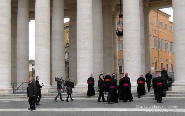 vatican city, st peter's basilica, rome, italy, travel, travelogue, ailsa prideaux-mooney, vatican holiday, gathering of cardinals