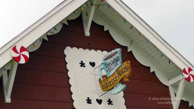 north cascades loop, leavenworth, washington, Bavarian village, travel, travelogue, Ailsa Prideaux-Mooney, das espresso haus