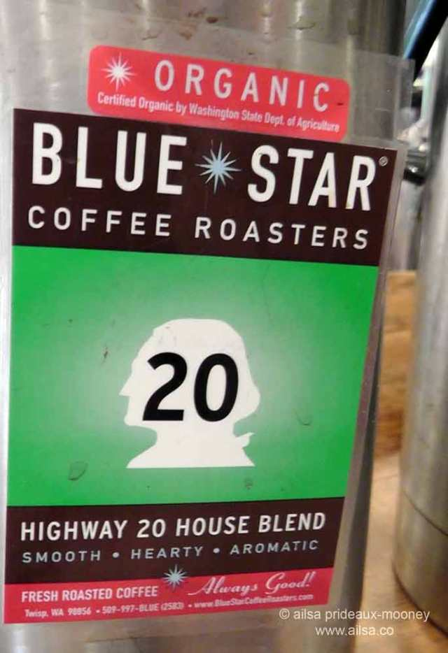 highway 20 coffee, mazama, washington, north cascades loop, travel, travelogue, ailsa prideaux-mooney
