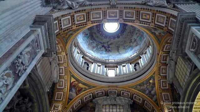 vatican city, st peter's basilica, rome, italy, travel, travelogue, ailsa prideaux-mooney