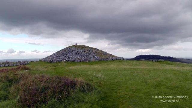 loughcrew, cairn, burial chamber, passage tomb, megalithic, neolithic, county meath, Sliabh na Caillí, travel, Ireland, travelogue, Ailsa Prideaux-Mooney