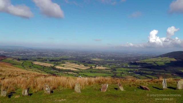 mount leinster, carlow, ireland, nine stones viewing point, travel, travelogue, ireland