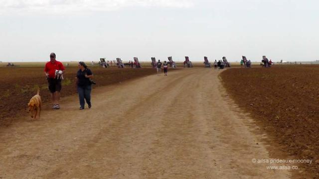 Cadillac Ranch, Amarillo, Texas, roadside attractions, travel, travelogue, ailsa prideaux-mooney