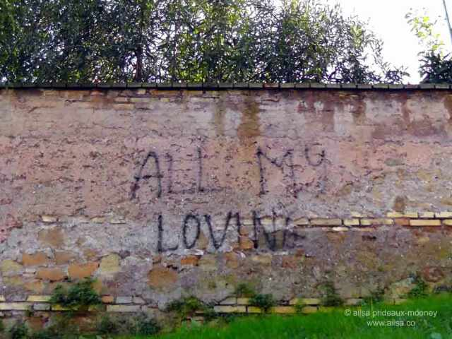 rome, italy, aventine, graffiti, travel, travelogue, ailsa prideaux-mooney