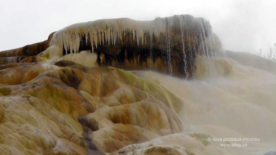 yellowstone park, sulphur pool, wyoming, travel, travelogue, ailsa prideaux-mooney, mammoth hotsprings