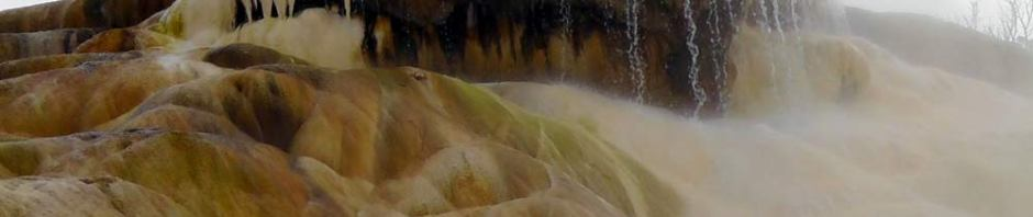 yellowstone park, sulphur pool, wyoming, travel, travelogue, ailsa prideaux-mooney, mammoth hotsprings