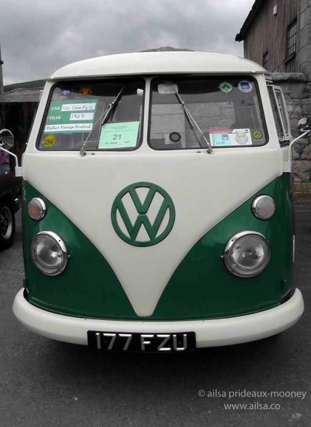 vintage car rally, irish veteran and vintage car club, powerscourt estate, picnic, travel, travelogue, ireland, ailsa prideaux-mooney, vintage vw bus, vw campervan