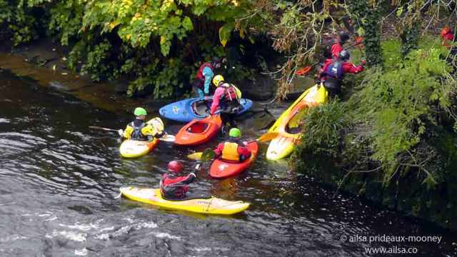 cork, bandon river, canoe, ireland, travel, travelogue, ailsa prideaux-mooney