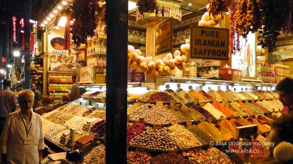 turkey, istanbul, spice bazaar, travel, travelogue, ailsa prideaux-mooney