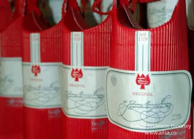 original eau de cologne, haus farina, 4711, perfume, history of perfume, travel, travelogue, ailsa prideaux-mooney
