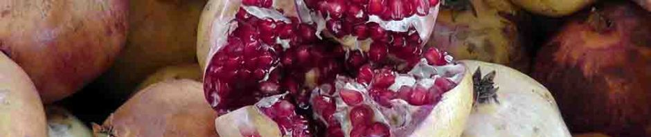 pomegranate, turkey, istanbul, bazaar, travel, travelogue, ailsa prideaux-mooney