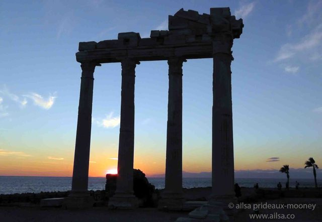 temple of apollo, side, antalya, turkey, travel, travelogue, ailsa prideaux-mooney