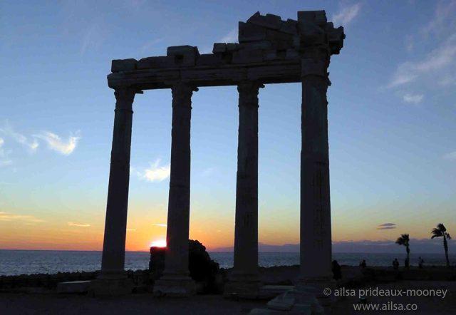 temple of apollo, side, antalya, turkey, travel, travelogue, ailsa prideaux-mooney