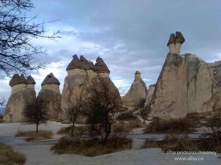 fairy chimneys, cappadocia, turkey, travel, travelogue, ailsa prideaux-mooney