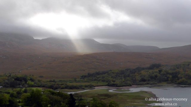 poisoned glen, god light, donegal, ireland, travel, travelogue, ailsa prideaux-mooney