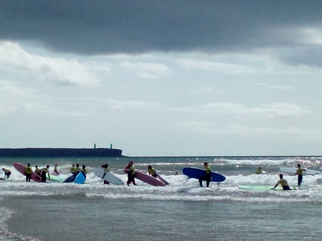 surf school, tramore, ireland, travelogue, ailsa prideaux-mooney